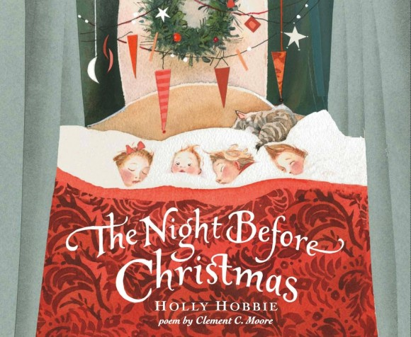 The Night Before Christmas picture book giveaway Holly Hobbie