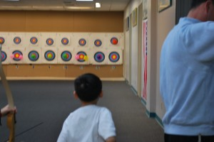 archery party, archery birthday party