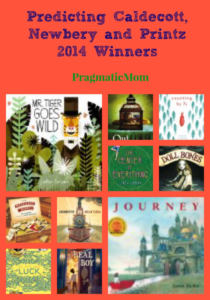 Caldecott, Newbery and Printz 2014
