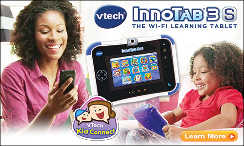 Vtech nnotab 3S Kid connect tablet.