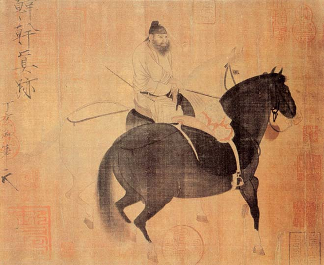 Han Gan horse painting