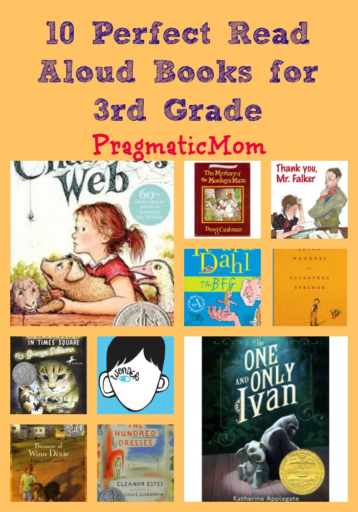 10 Perfect Read Aloud Books For 3rd Grade Pragmaticmom