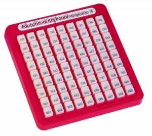 multiplication machine math fact toy