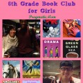 3rd grade book club for boys, 6th grade book club for girls, nerdy book club meet up in boston