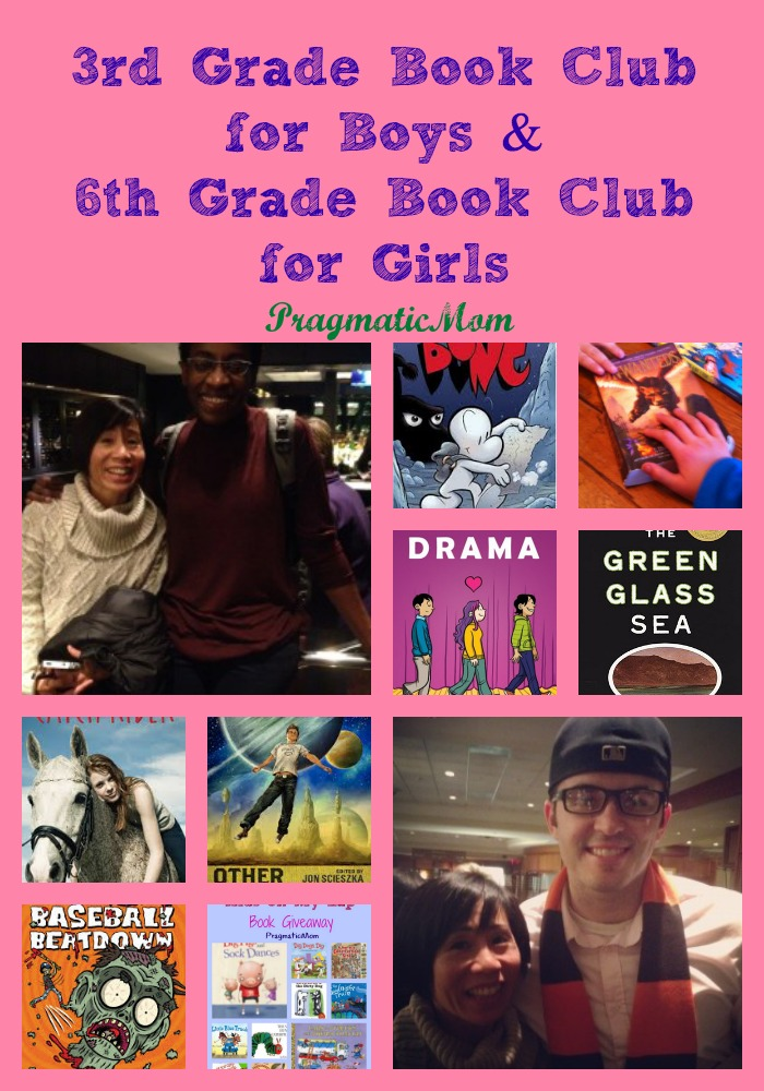 3rd Grade Book Club For Boys And 6th Grade Book Club For Girls