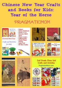 Chinese New Year crafts and books for kids