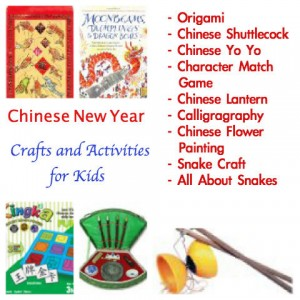 Chinese New Year Crafts Party for Kids