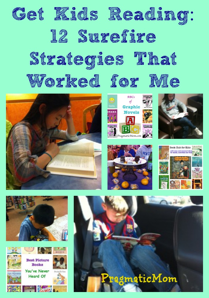 Getting Kids Reading 12 sure fire ways to get kids reading