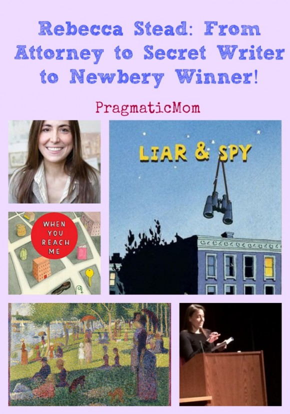 Rebecca Stead from secret writer to newbery author
