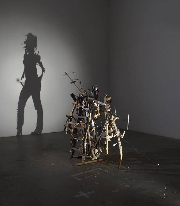 amazing shadow puppets made from trash