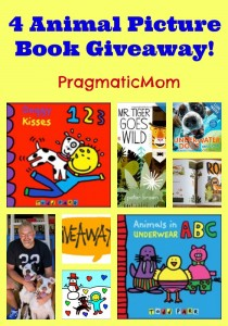 4 Animal Picture Book Giveaway!