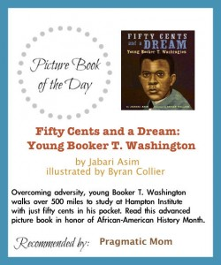Booker T Washington picture book