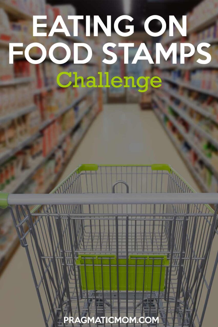 Eating on Food Stamps Challenge