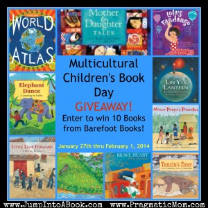 Multicultural Children's Book Day giveaway