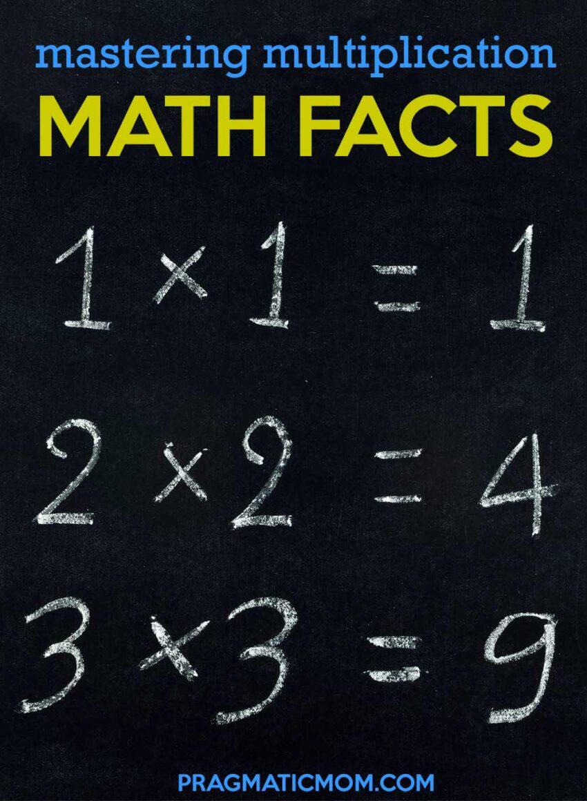Mastering Multiplication Math Facts