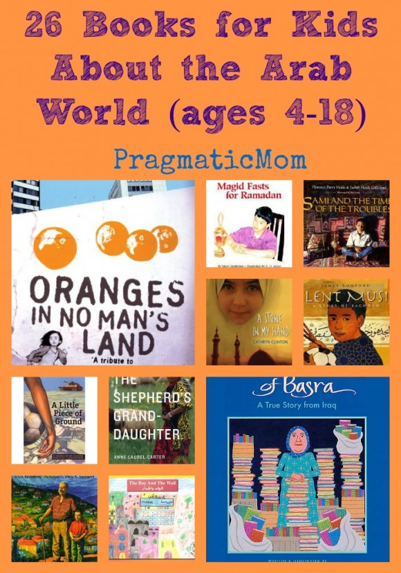 26 books for kids about arab world middle east