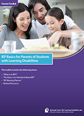 Free E-Book: IEP Basics for Parents of Students with LD