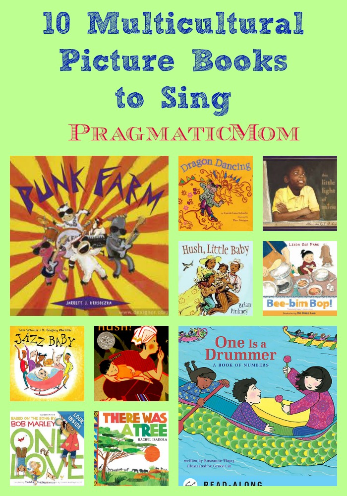 10 Multicultural picture books to sing