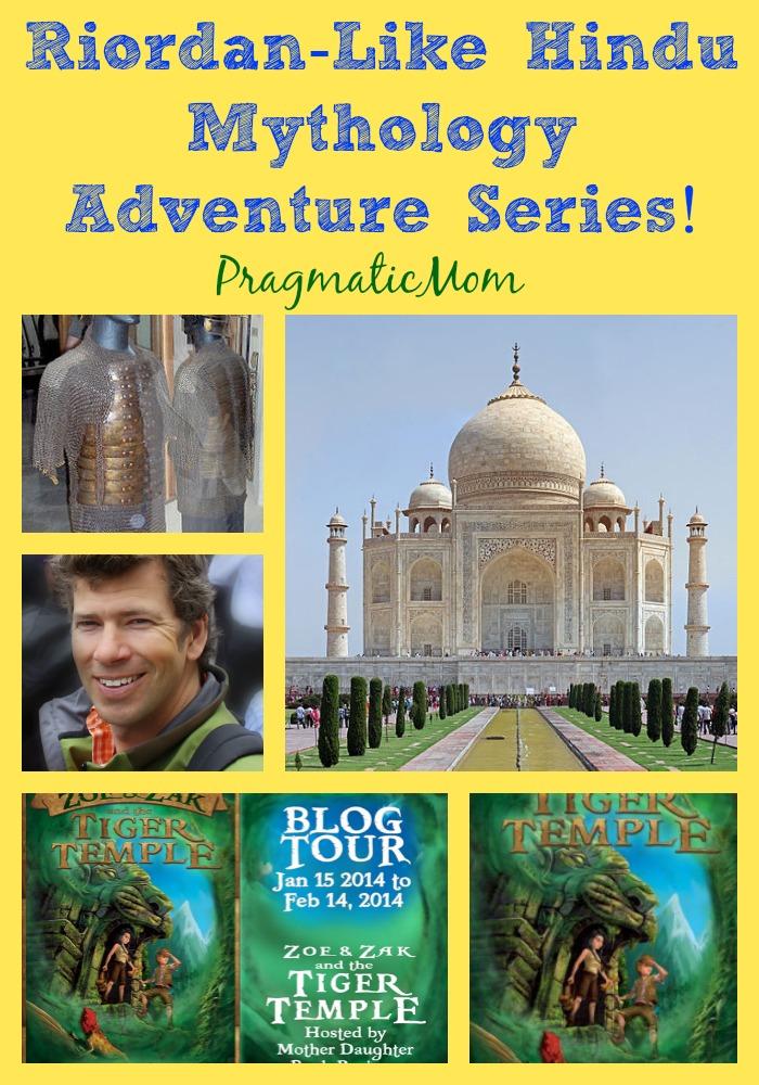 Riordan-Like Hindu Mythology Adventure Series!
