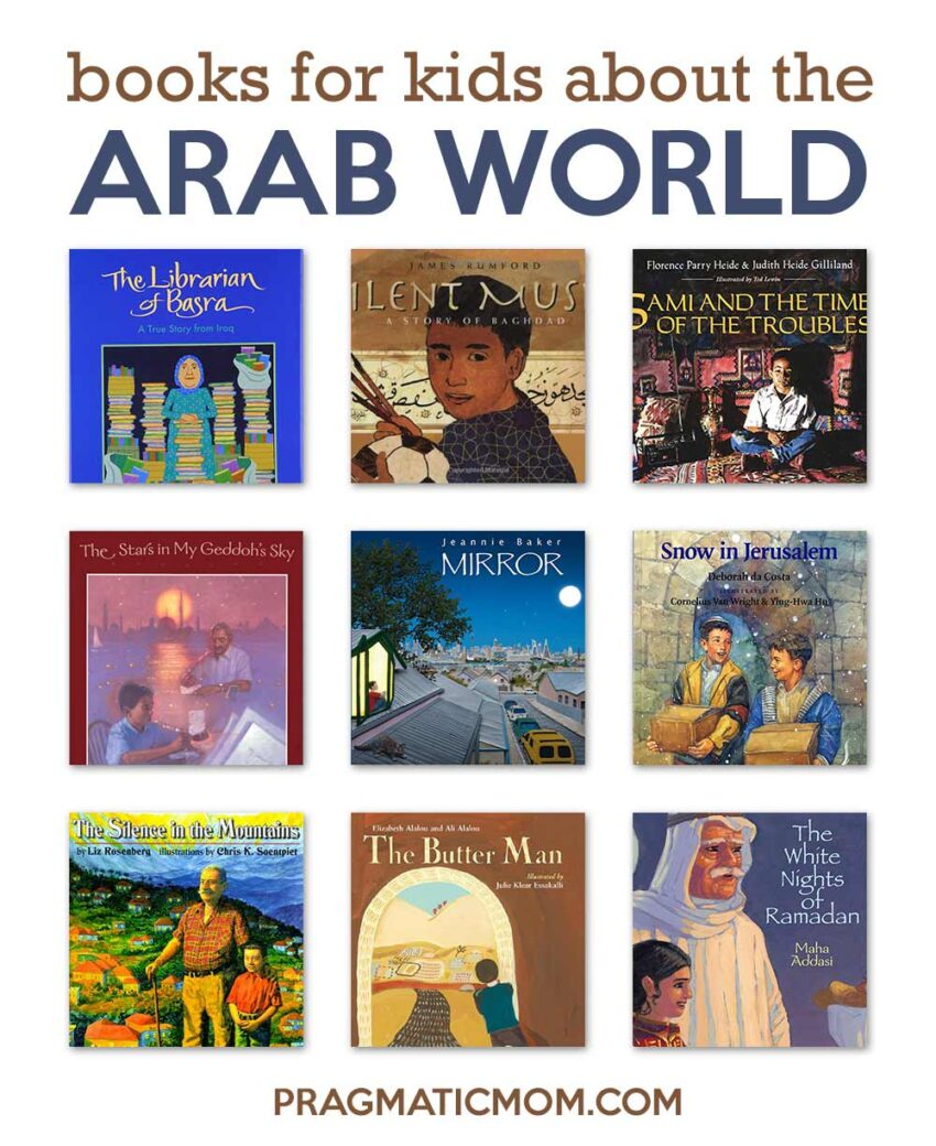 27 Books for Kids About the Arab World (ages 4-18)