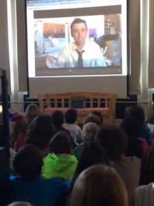Jarrett Krocoszka skype author school visit
