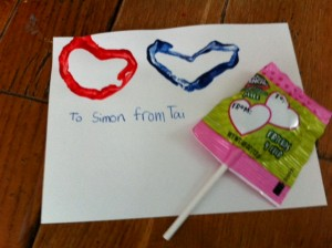easy homemade Valentine craft