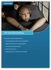 Free E-Book: The Truth About Bullying: School Toolkit