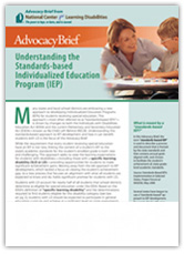 Free E-Book: Understanding the Standards-Based IEP