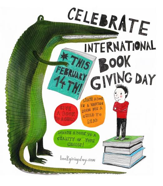 Celebrate International Book Giving Day