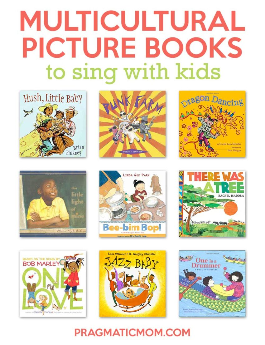 Multicultural Picture Books to Sing