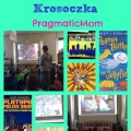 Skype author visit with 2nd graders Jarrett Krosoczka