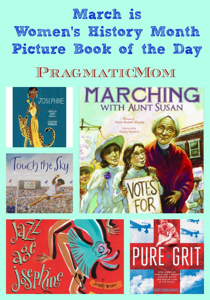 women's history month picture book of the day