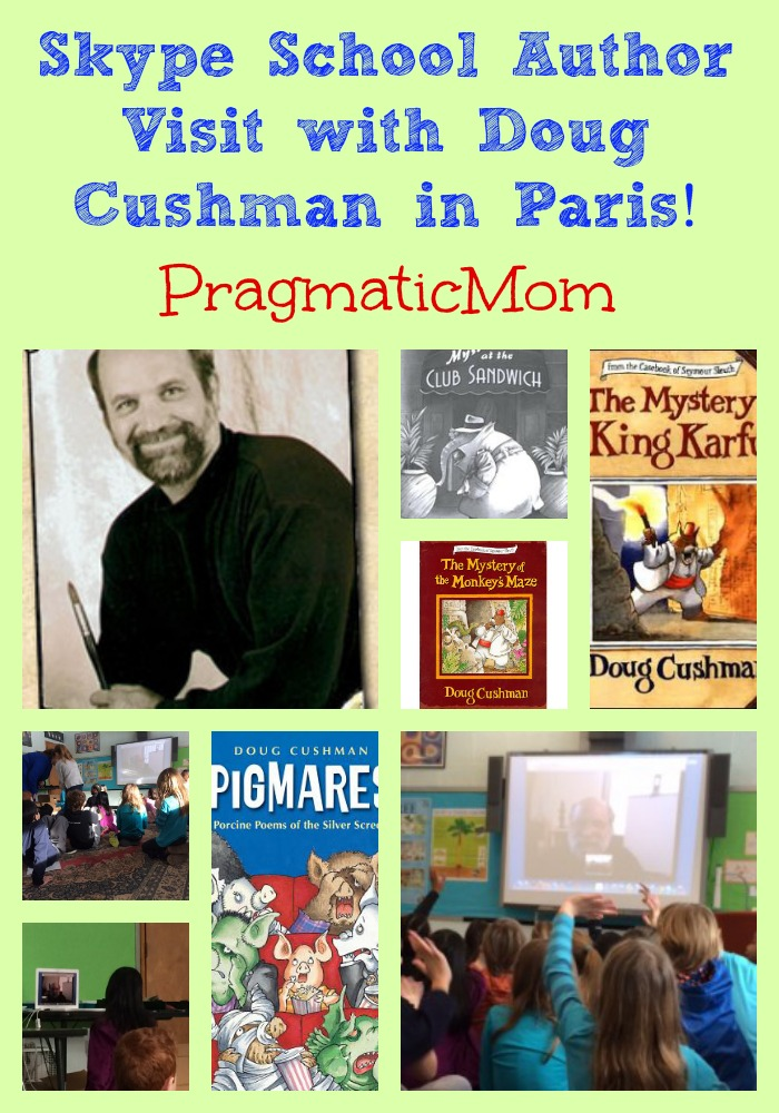 Doug Cushman skype author visit