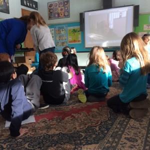 Doug Cushman Skype school author visit