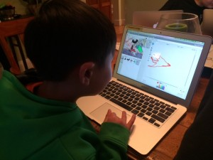 learning scratch programming language for elementary age kids