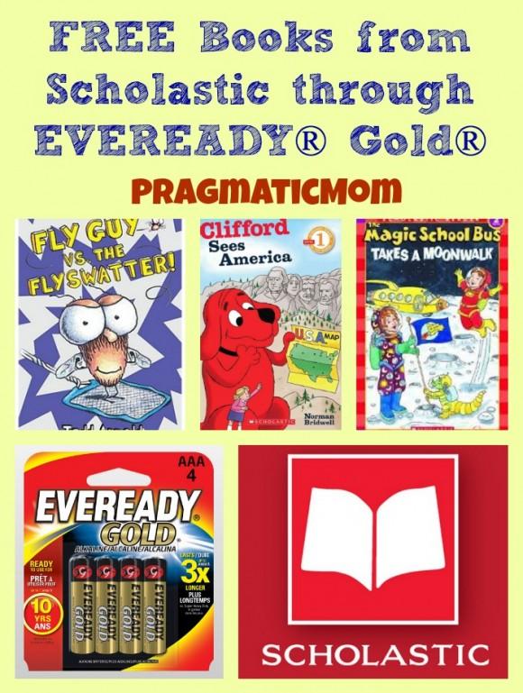 free books through scholastic