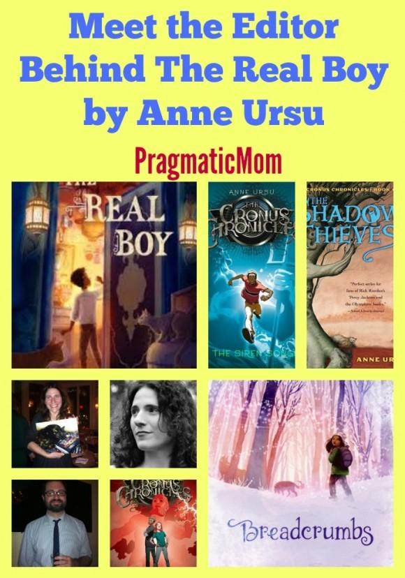 Meet Editor behind The Real Boy by Anne Ursu