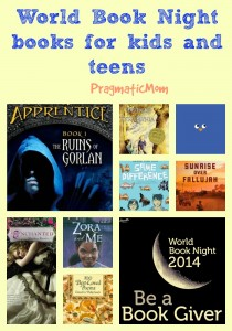 World Book Night book list for kids and teens