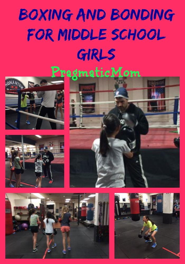 girls and boxing, middle school girls and boxing,