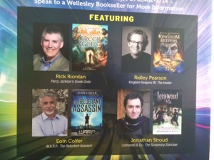 Rick Riordan and Mega Awesome book event