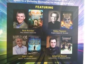 Rick Riordan and Mega Awesome book event