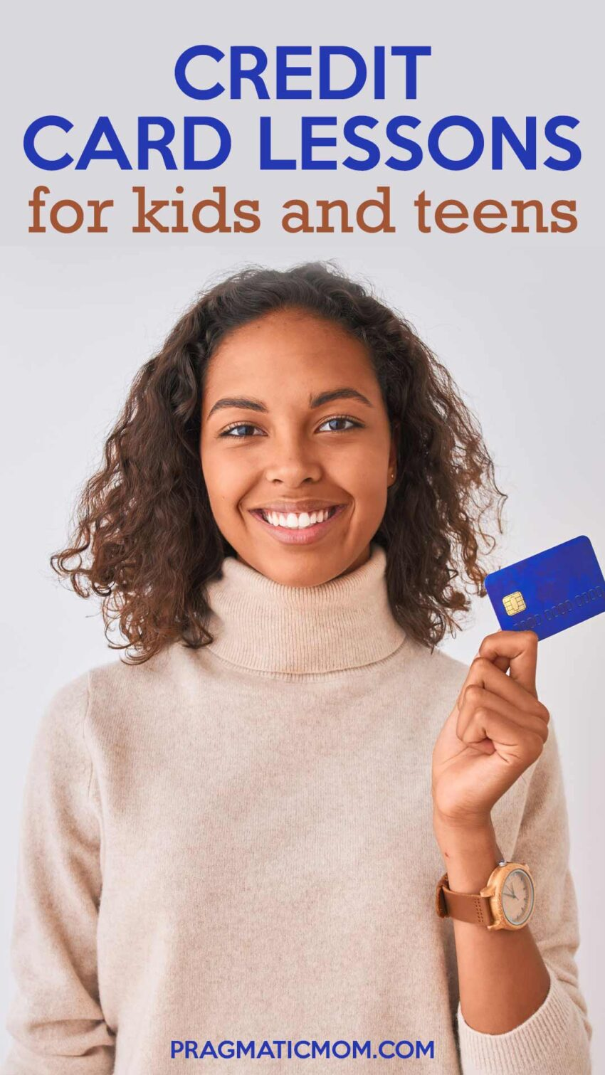 Credit Card Lessons for Kids