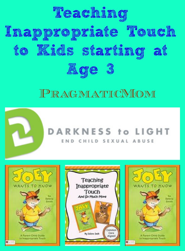 Teach Inappropriate Touch to kids at age 3