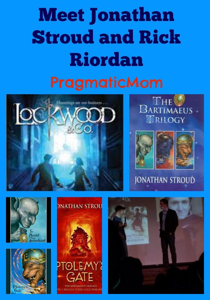 Jonathan Stroud Lockwood and Co series