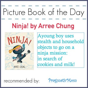 Ninja! picture book of the day by Arree Chung
