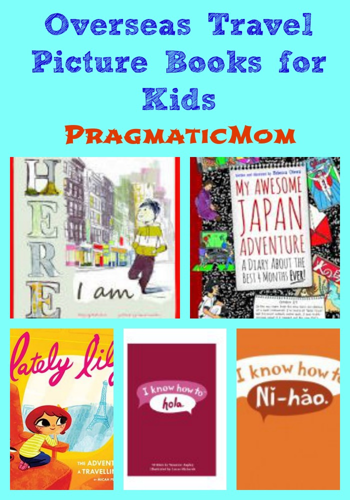 overseas travel picture books for kids