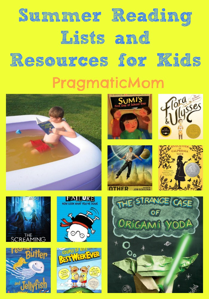 summer reading lists and resources