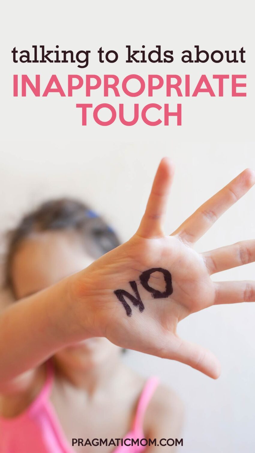 Talking to Kids about Inappropriate Touch