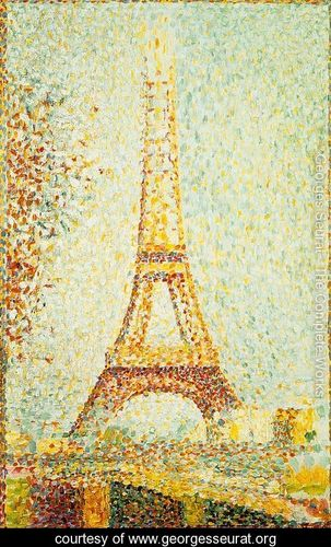 Georges Seurat Pointellism Art Project for Kids