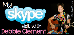 Debbie Clement Skype author visit